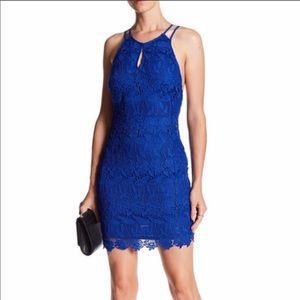 ASTR the label lace mini dress
